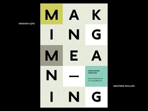 designspiration meaning best type making meaning heather phillips images on