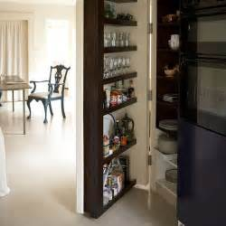 pantry storage white open plan dining room kitchen hidde