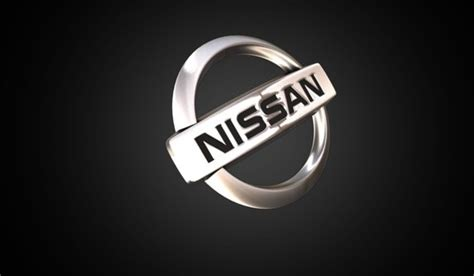nissan black logo nissan logo 3d logo brands for free hd 3d