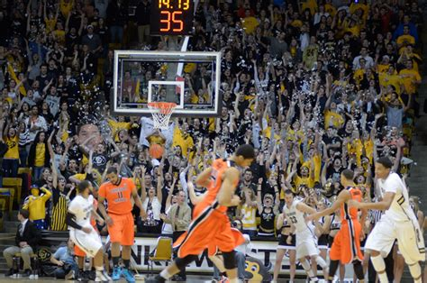 naismith student section of the year c unit student section up for award