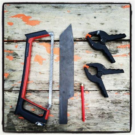 diy handmade machete for survival tools blades