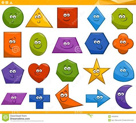 figuras geometricas nomes e imagens formas geom 233 tricas b 225 sicas dos desenhos animados