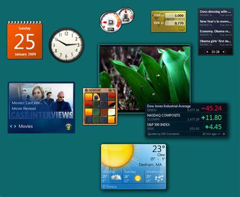 best gadgets for windows 7 gadgets para windows 7