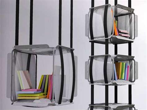 suspended bookshelves suspended bookshelves adrien de melo