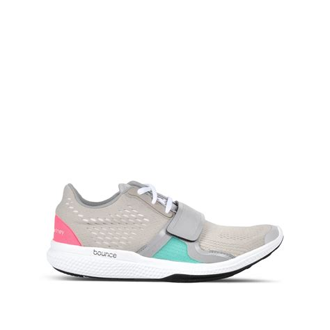 stella mccartney adidas shoes adidas by stella mccartney bounce running shoes in gray lyst