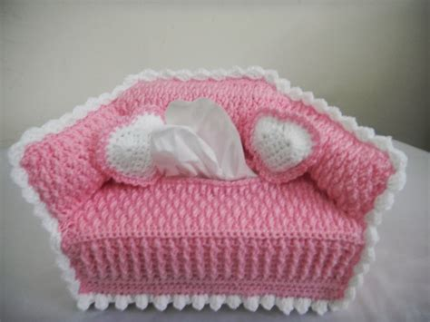sofa tissue box cover pattern for the love of crochet along sofa tissue box cover