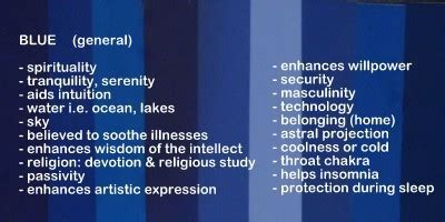 blue meaning use color meanings and symbolism in unique gift giving