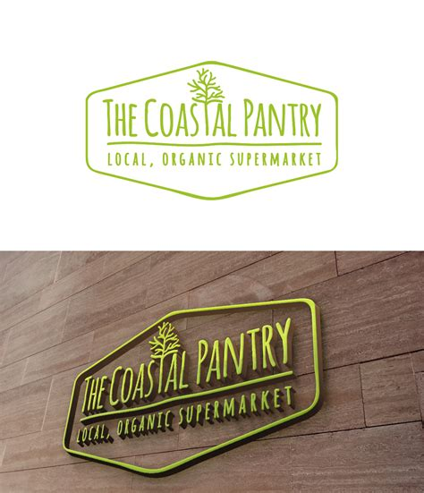 professional upmarket food store logo design for the