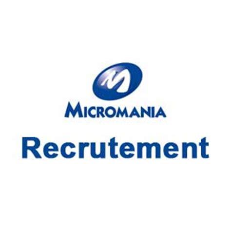 micromania recrutement espace recrutement