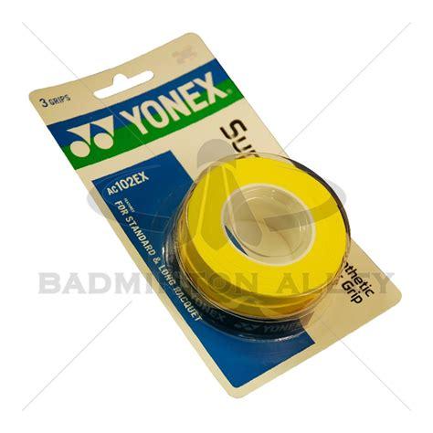Yonex Grip Karet Badminton yonex grap overgrip ac102ex yellow