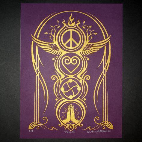 plur tattoo designs mystery quot p l u r peace unity respect quot