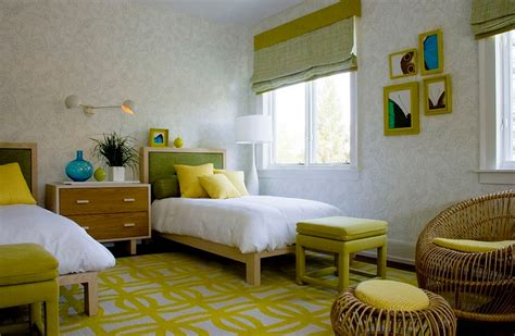 yellow and green bedroom summer color combinations bring home cheerful