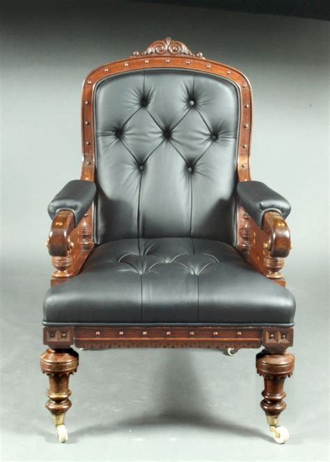 victorian leather armchair victorian leather armchair 463363 sellingantiques co uk
