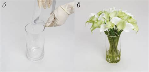 Huge Glass Vase How To Use Acrylic Water With Silk Flowers The Koch Blog