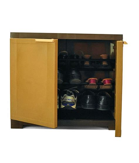 Shoe Rack With Price by Nilkamal Brown Shoe Rack Available At Snapdeal