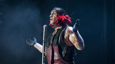heavy metal singer deid in 2016 rammstein industrial metal heavy death concert singer