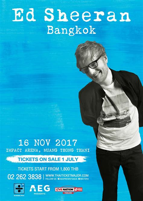Ed Sheeran November 2017 | impact event calendar impact arena exhibition