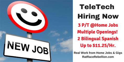 work from home teletech still hiring p t customer