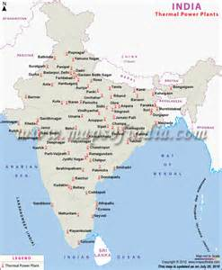 power plant maps indian power sector