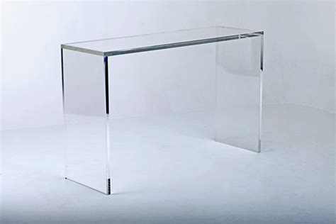 Perspex Console Table Console Tables Perspex Furniture Carew Jones