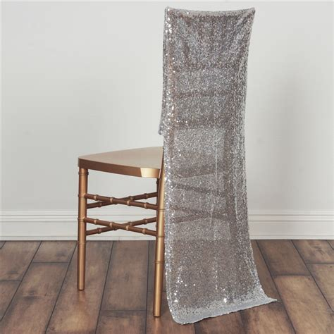 wedding chair slipcovers 10 pcs sequin slipcovers chair covers wedding party