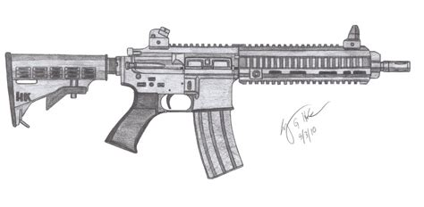 hk m416 by czechbiohazard on deviantart