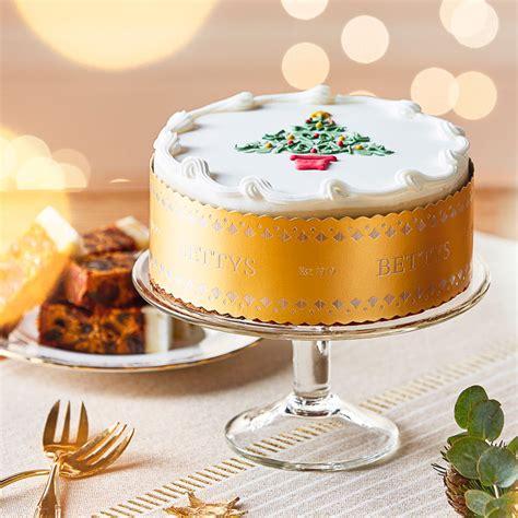 royal iced tree christmas cake bettys