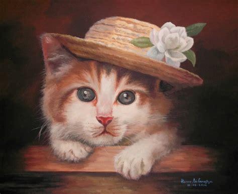 Lukisan Kucing 3 Acrylic Cat Painting dunia lukisan javadesindo gallery gt gt lukisan kucing