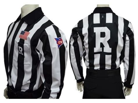 Football Referee Letters On Shirts