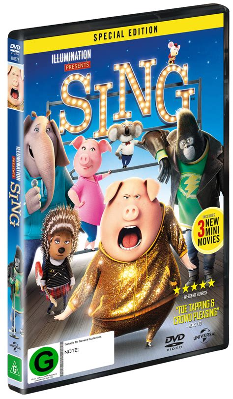 Dvd Sing sing dvd in stock buy now at mighty ape nz