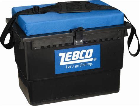 fishing seat box cushion fishing seat box with shoulder and cushion tackle box