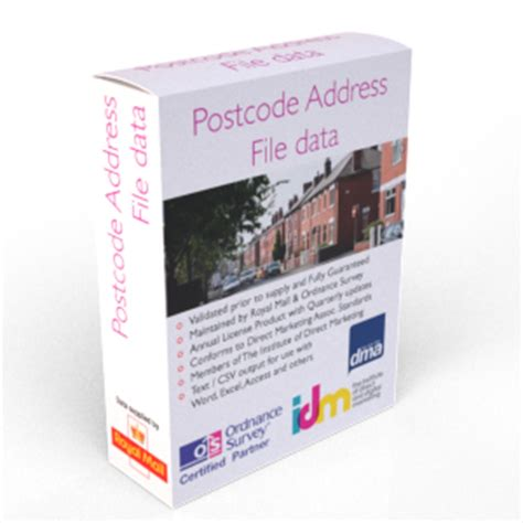 Royal Mail Postal Address Finder Opinions On Postcode Address File