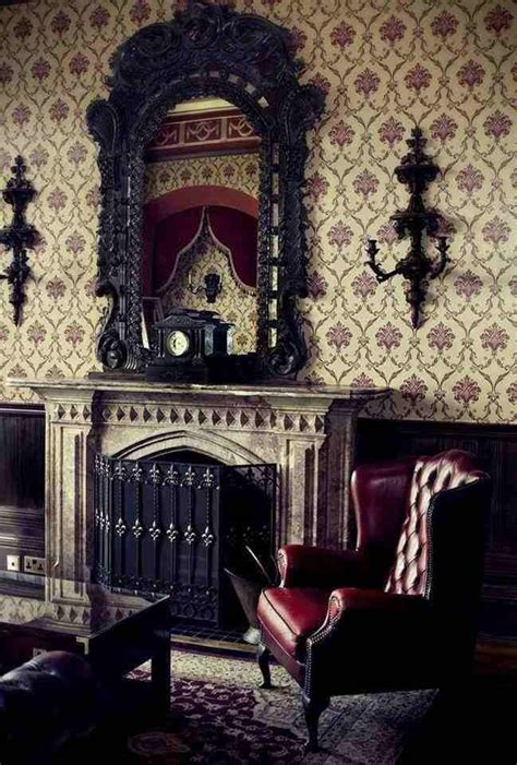 gothic style home decor victorian gothic fireplace designs