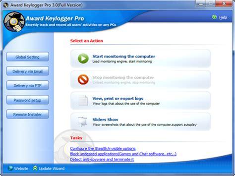 download keylogger full version terbaru award keylogger pro 3 0 full keygen sumber referensi