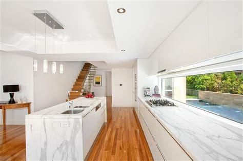 calcutta marble island contemporary kitchen ken marble kitchens with calcutta marble island glossy