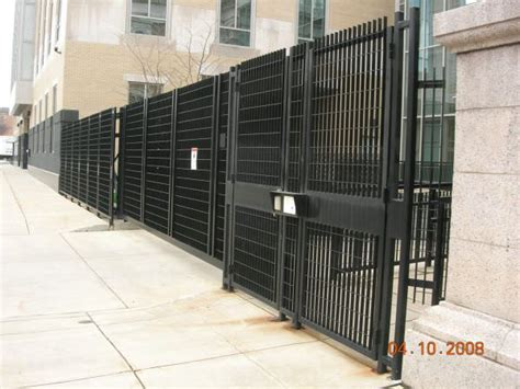 stainless steel security fencing steel security fence ametco manufacturing