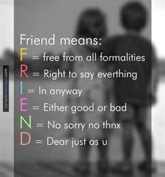 friendship sle messages