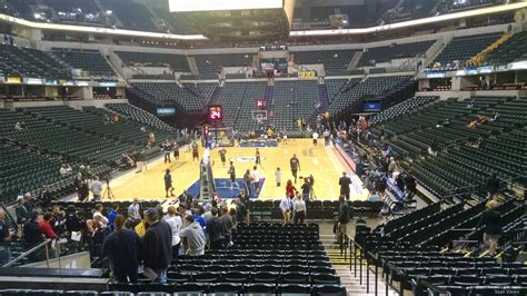 Section Eleven by Bankers Fieldhouse Section 11 Indiana Pacers