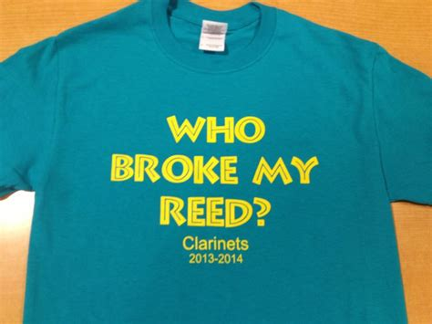 Clarinet Section Shirts by Lol Clarinet Humor Funnies