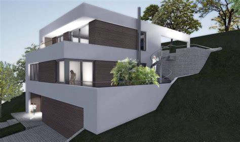 Einfamilienhaus Am Hang Grundrisse by Einfamilienhaus Am Hang Werkhof Bautr 228 Ger Gmbh