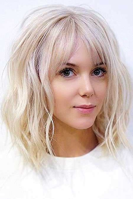 Medium Hairstyles With Bangs Layered by 21 Medium Length Layered Haircuts With Bangs Hairstyles