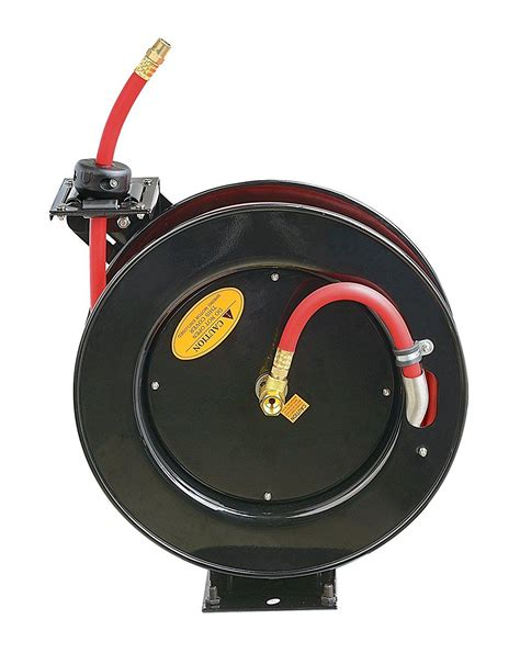 Air Hose Reel 8 M Plastik Top Quality Perkakas Angin Selang reelworks l805083a steel retractable air compressor water hose reel with 3 8 quot x 25 hybrid