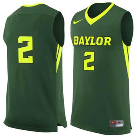 jersey design green and white baylor apparel baylor university gear bears football