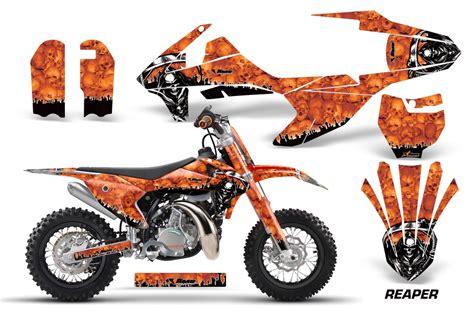 Ktm 50 Sx Racing 2016 Ktm Sx50 Graphics Kit 40 Designs Available