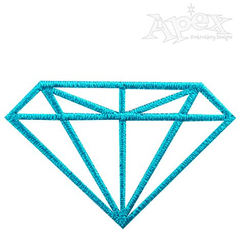 embroidery design diamond diamond april embroidery designs