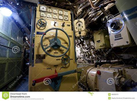 interno sottomarino interno sottomarino russo fotografia stock immagine