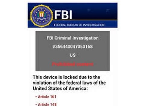 Fbi Phone Number Lookup Quot F B I Quot Ransom Virus Removal From An Android Phone 2016