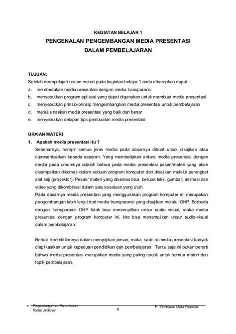 Buku Pegangan Pencari Kerja Iskandarsyah Muhammad modul 4 pembuatan ppt