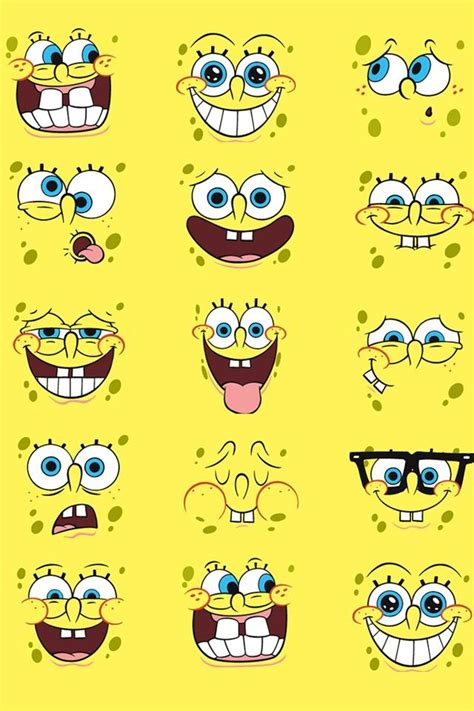 spongebob spongebob background spongebob faces