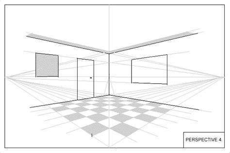 how to draw a room wetcanvas artsschool s toolbox learning how to draw elementary perspective 4